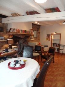 Café et librairie